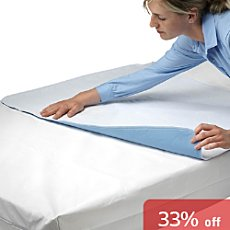Pack of 2 Erwin Müller waterproof mattress protectors