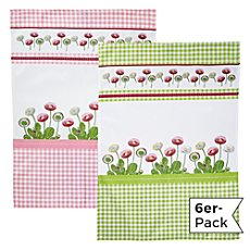 Erwin Müller  6-pk tea towels