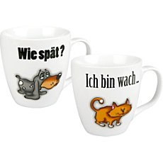Könitz  2-pk coffee mugs