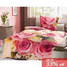 REDBEST Renforcé reversible duvet cover set