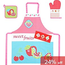 3-pc kitchen fabric set