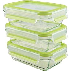 Emsa  3-pk food container set