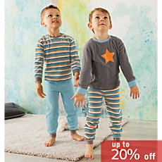 Pack of 2 Kinderbutt terry pyjamas