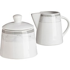 Gepolana  sugar jar & milk jug