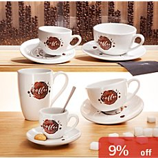 Könitz  mil coffee set, 4-parts