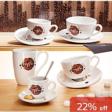 Könitz  4-pk coffee mugs