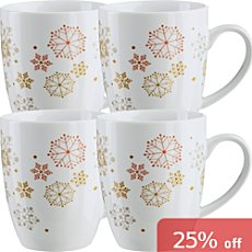 Gepolana  4-pk coffee mugs
