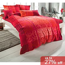 Ibena cotton flannelette duvet cover set