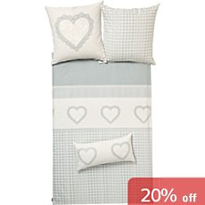 Ibena cotton flannelette extra pillowcase