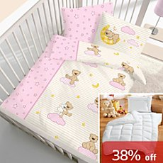 5-pc children bedding set, bear