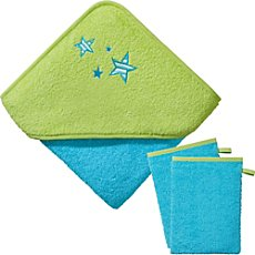 Kinderbutt  3-pc towel set incl. embroidery