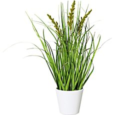 artificial spike grass bush
