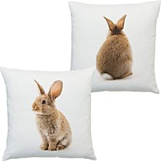 Erwin Müller cushion cover rabbit