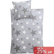 Kleine Wolke cotton flannel duvet cover set