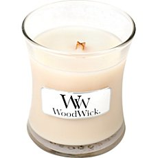 WoodWick scented candle Vanilla Bean