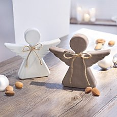 2-pk angel figurines