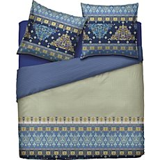 Bassetti Egyptian cotton sateen reversible duvet cover set