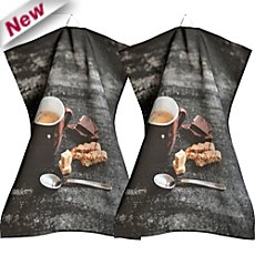 Sander  2-pk tea towels