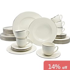 30-pc tableware set