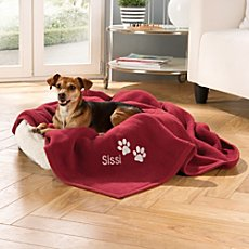Bocasa blanket paw incl. name embroidery