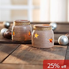 2-pk candle holders