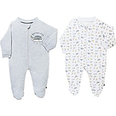 Jacky  sleepsuits in double pack