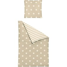 Irisette cotton flannel duvet cover set