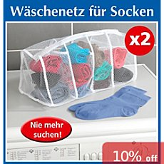 Wenko  2-pk sock washing bags