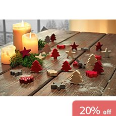 24-pc scatter decoration