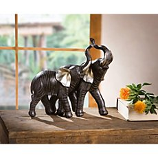 pair of decoration elephants