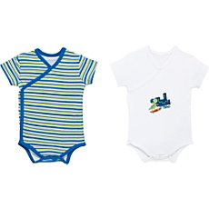 Boley  2-pk wrap bodysuits