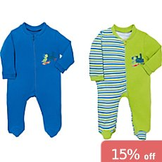 Boley  sleepsuits in double pack