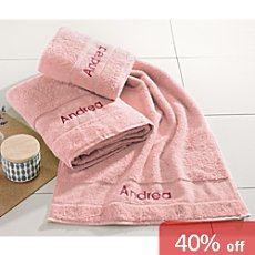 Erwin Müller  3-pc towel set incl. name embroidery