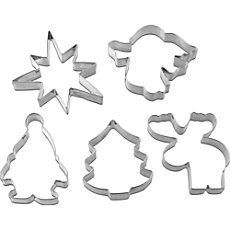 Dr. Oetker  cookie cutter set, 5-parts