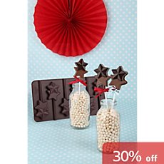 Dr. Oetker star shaped silicone chocolate mould