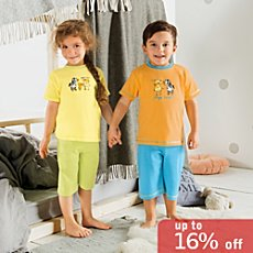 Kinderbutt  4-pc short pj set