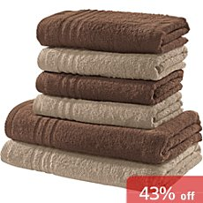 REDBEST 6-pc towel set New York