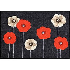 Salonloewe doormat, poppy flowers