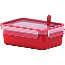 Emsa  clip & close microwave lunchbox with inserts
