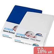 Alvi  2-pk fitted sheets