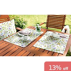 Erwin Müller stain-resistant 2-pk table mats