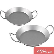 2-pc iron pan set