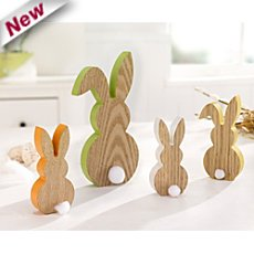 Easter rabbit family, 4-parts