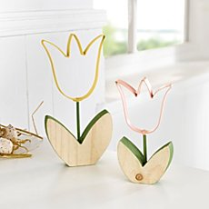 2-pk decoration tulips