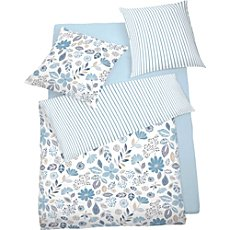 Schlafgut seersucker reversible duvet cover set