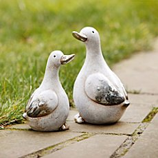 figurine duck pair
