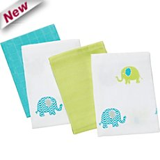 Baby Butt  4-pk muslin squares