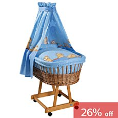 Baby Butt Moses basket set