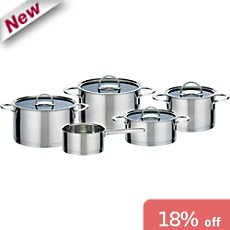 GSW  pot set, 9-parts