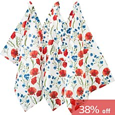 REDBEST  3-pk tea towels